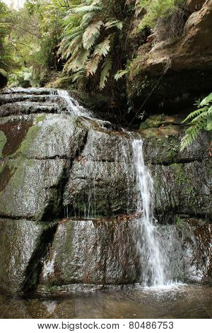 Wentworth Falls Waterfall