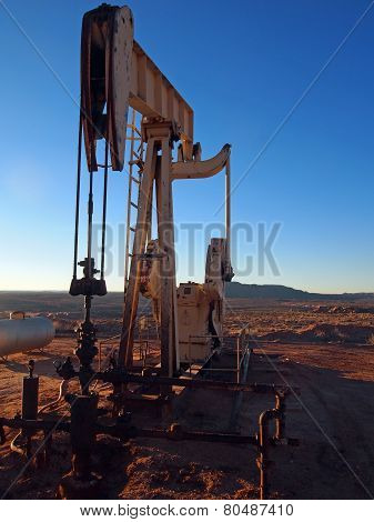 Pumping Oil