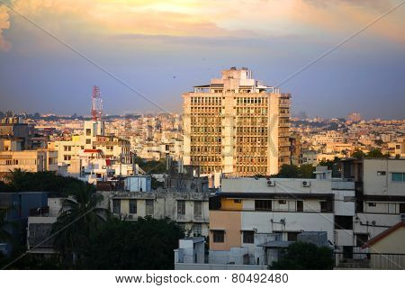 HYDERABAD INDIA - September 1 : Hyderabad is fifth largest contributor city to India's GDP with US$74 billion . On September 1,2012 Hyderabad, India.