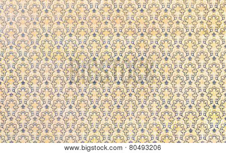 tile wall royal gothic background