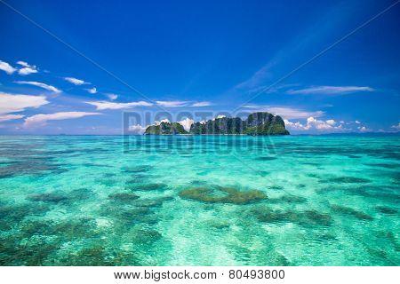 Oblivion Waters In a Blue Heaven