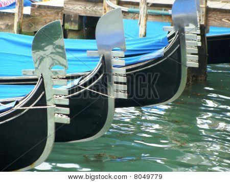 Gondolas with Ferro on the Front