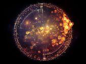 stock photo of metaphysical  - Unfolding Symmetry series - JPG