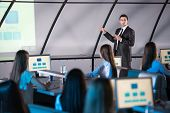 foto of audience  - Business conference and presentation - JPG