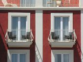 Mediterranean balconies  (red)