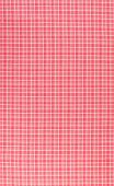 stock photo of tartan plaid  - Red and white plaid textile fabric background - JPG