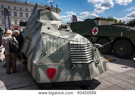KUBUS, Polish Armored Car WWII