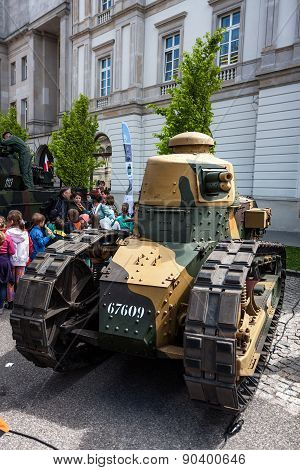 Light Tank Renault Ft 17