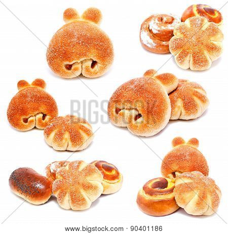 Collection Of Photos Sweet Buns And Rolls