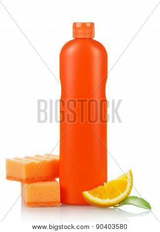 Orange cleaning product