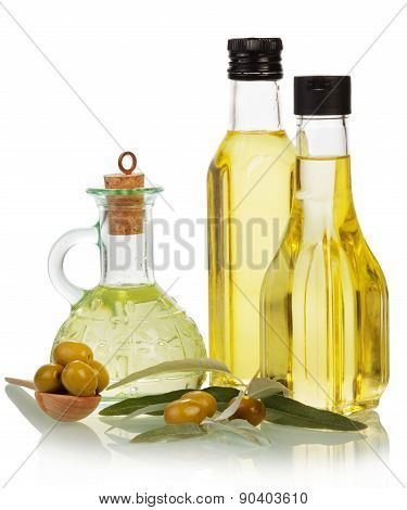 Olive oil flavored and other ingredients