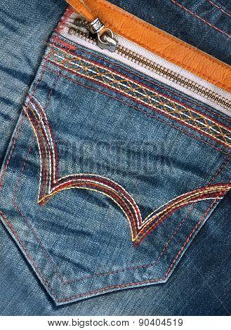 Modern Jeans Pocket
