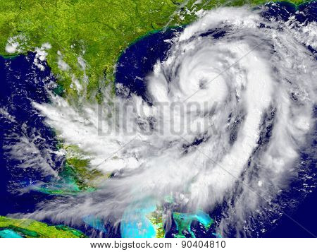 Hurricane Near Florida
