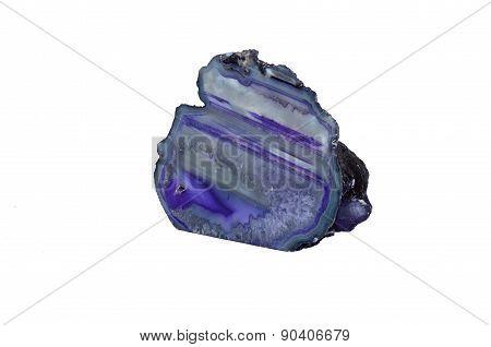 Violet Agate Geode