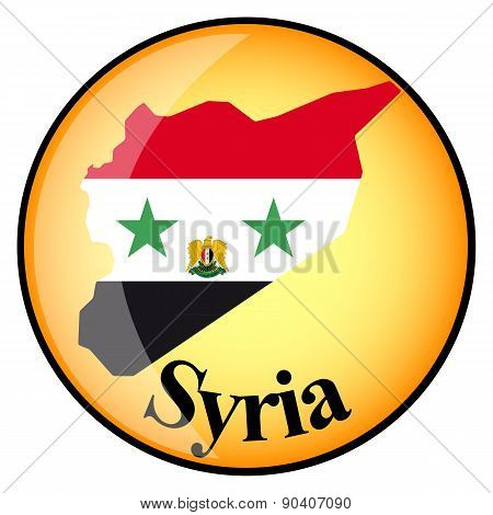 Orange Button With The Image Maps Of Syria