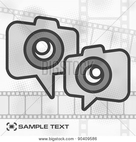 Camera Icon & Film Strip