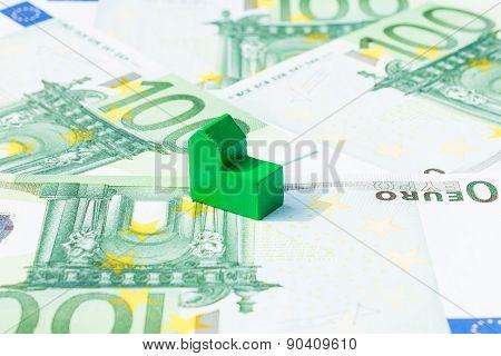 Concept House, Bill, Income, Salary Euro