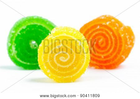 yellow jelly candy
