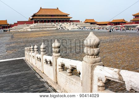View From Forbidden City - Beijing, China