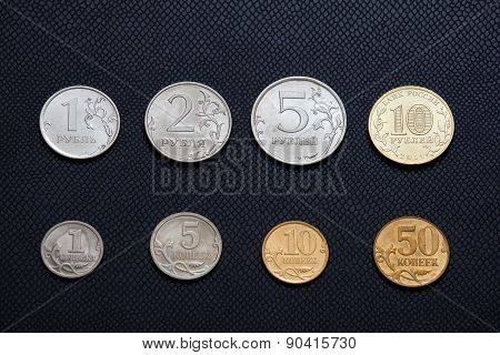Assortment Of Ruble Coins