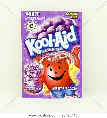 Package Of Grape Flavored Kool-aid