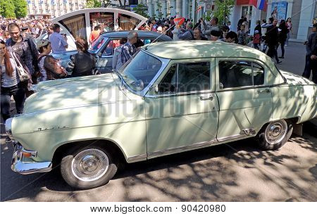 Soviet Executive Car Of 1960S GAZ-21 Volga