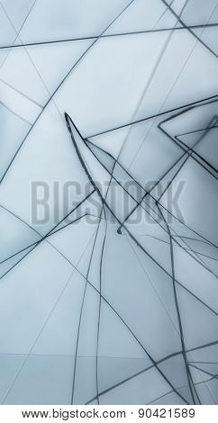 Abstract Shattered Glass