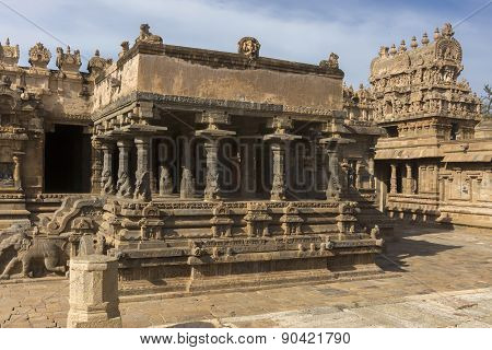 Protruding Part Of Mandapam.