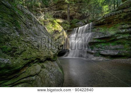 Hidden Falls Ohio