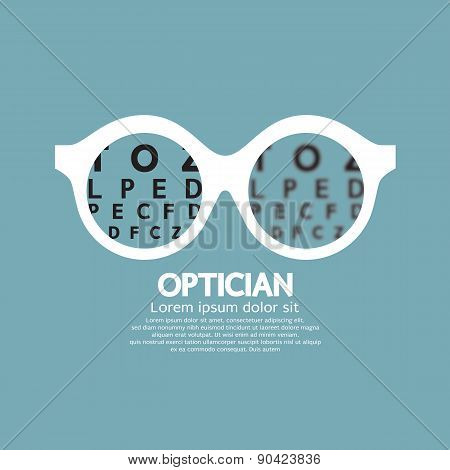 Optician, Vision Of Eyesight.