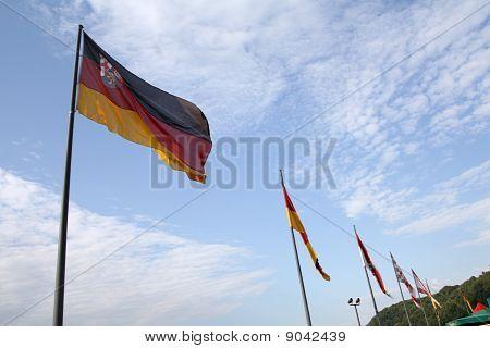Rhineland-palatinate Flag
