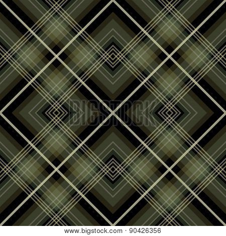 Seamless retro checkered pattern background