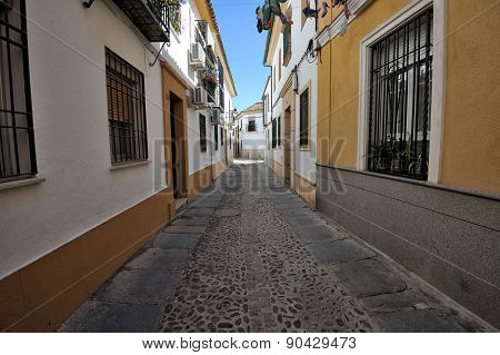 Traditional Street Architecture, Cordoba, Spain