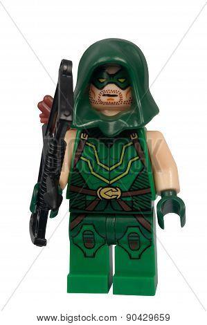 Green Arrow Custom Lego Minifigure