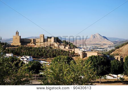 Antequera castle.