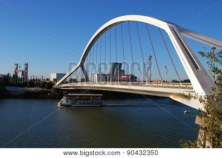 Barqueta bridge, Seville.