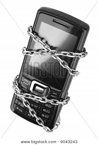 Mobile Phone With Chain