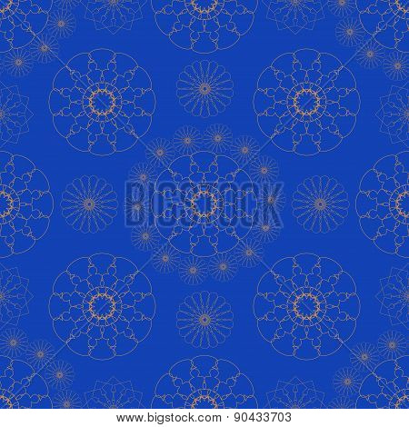 Abstract lace ornament pattern