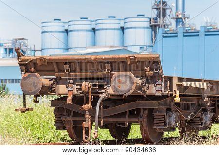 Freight Wagon Rail