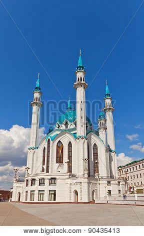 Qol Sharif  Mosque In Kazan Kremlin, Russia. Unesco Site