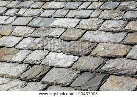 Detail Of Rock Shingles