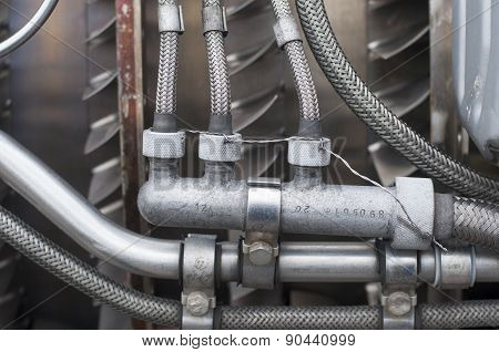 Retired Jet Engine