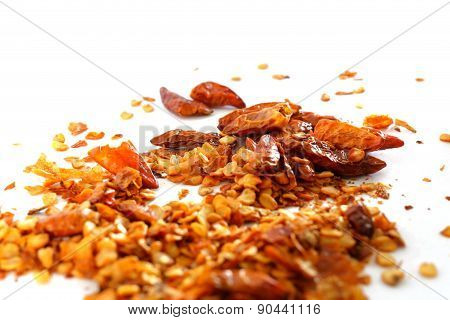 Dry Chilli And Seeds
