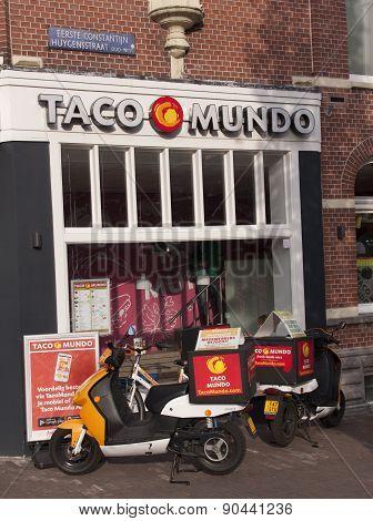 Taco Mundo Shop In Amsterdam