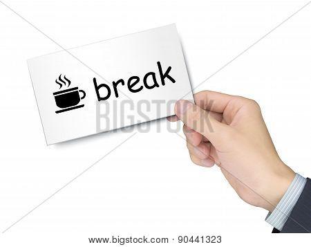 Break Card In Hand