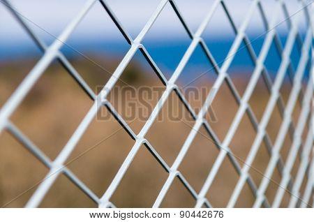 Solid Metallic Mesh Fence