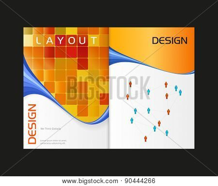 Business modern template, easy all editable