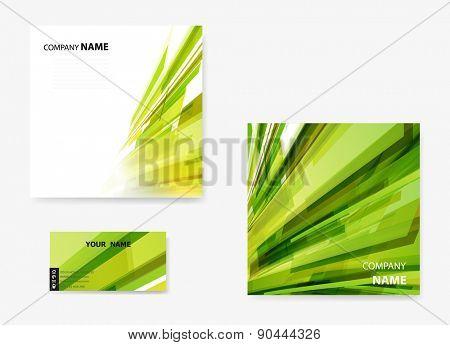 Abstract modern flyer, brochure design template easy editable