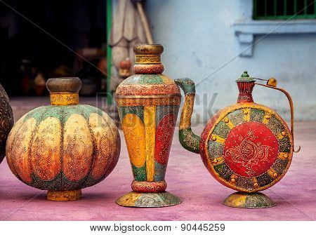 Ethnic Rajasthan Pots