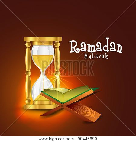 Open golden pages, Islamic religious book